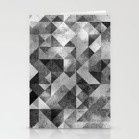 matrix Stationery Cards featuring moon matrix by Kingu Omega