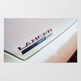 Mitsubishi Lancer Evolution X Detail Rug