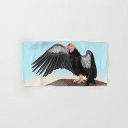 California Condor Magnificent Bird Hand & Bath Towel