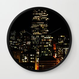 suite view Wall Clock