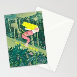 Spring in the jungle Stationery Cards