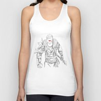 dragon age Tank Tops featuring (Dragon Age 2) Hawke by  Steve Wade ( Swade)