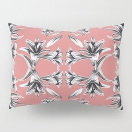 Lilium floral mirror Pillow Sham