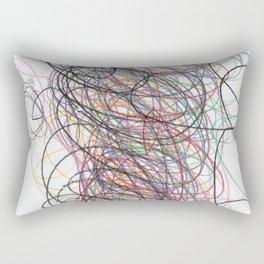Gorgeous Time Colored Pencils Rectangular Pillow