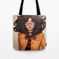 charmaine olivia Tote Bags featuring Olivia by Rafa ArSen