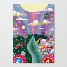 Veso Cuto & Tedo Vec Canvas Print