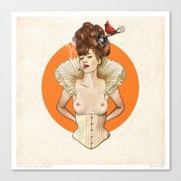 Miss Virginia Canvas Print