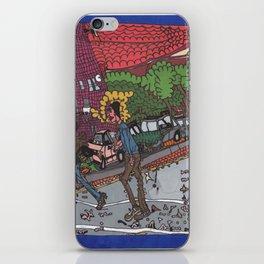 Jills Street - New York iPhone Skin
