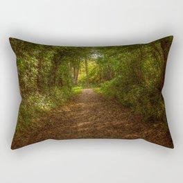 Autumn in the woods Rectangular Pillow