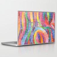 queer Laptop & iPad Skins featuring queer rainbows by ElenaM