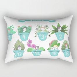Aoba Johsais in a pot!! Rectangular Pillow