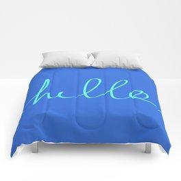Hello, Sailor Comforters