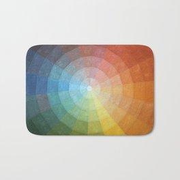 Color Wheel Quilt Bath Mat