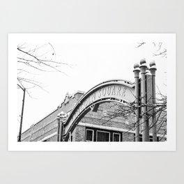 Lincoln Square  Art Print
