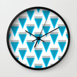 Verge - Crypto Fashion Art (Large) Wall Clock