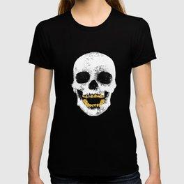 Snake Skin Skull T-shirt