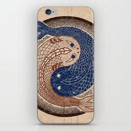 shuiwudáo yin yang mandala iPhone Skin