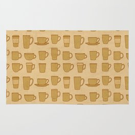 Coffee stained Rug