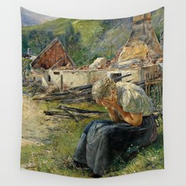 The Day After Wall Tapestry