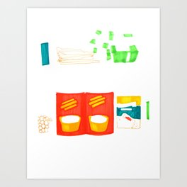 Can & Quick Pickle Art Print