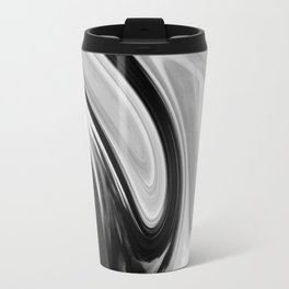 FLAMINGO - BLACK Travel Mug
