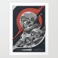 Interstellar - Movie Poster Art Print