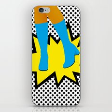 #3 GIRLY BOOTS iPhone & iPod Skin