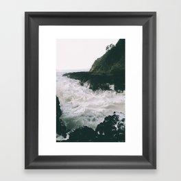 Milky. Framed Art Print
