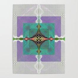 Sacred Healing Resonant Mandala Poster