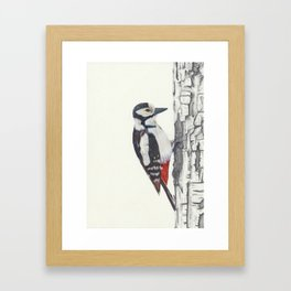 Tree Knocker Framed Art Print