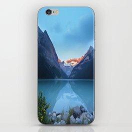 Mountains lake iPhone Skin