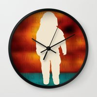 brand new Wall Clocks featuring Brand New - Deja Entendu by NEVER AGAIN