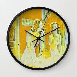 Life as Lemons Wall Clock
