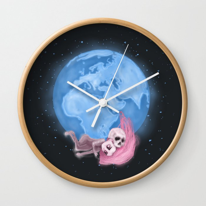 Lost in a Space / Homeckly Wall Clock