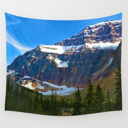 Mt. Edith Cavell in Jasper National Park, Canada Wall Tapestry