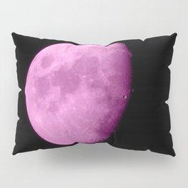 4K Dark Side of the Moon Fuchsia Pillow Sham