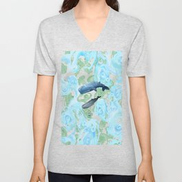 Underwater Giants Unisex V-Neck