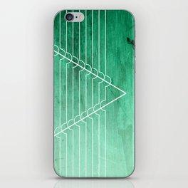 Disrupt - Aquamarine iPhone Skin