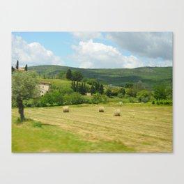Italian Countryside Canvas Print