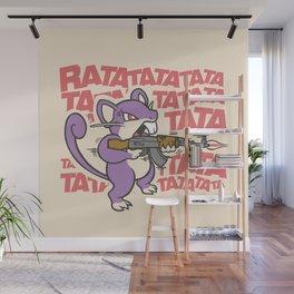 Ratatatata... Wall Mural