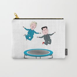 Trump and Kim Jong Un Carry-All Pouch