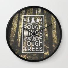 TOUGH TREES Wall Clock