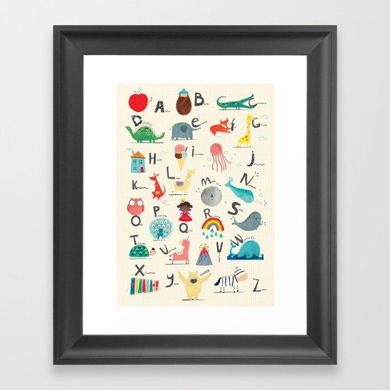Animal Alphabet by coryreid_illustration