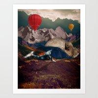 Valley of Kings Art Print