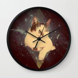 Lazer Kat Wall Clock