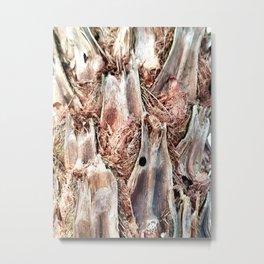 Textured Tree Trunk Metal Print