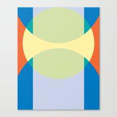 Cacho Shapes XCIII Canvas Print