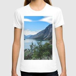 Lillooet Lake Mountain lake Canada mountains summer British Columbia T-shirt