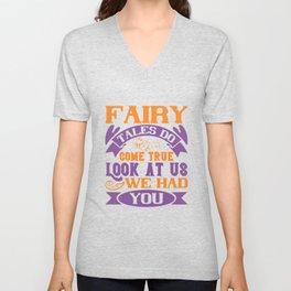 baby - fairy tales do come true Unisex V-Neck