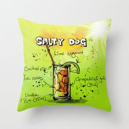 Salty Dog Throw Pillow